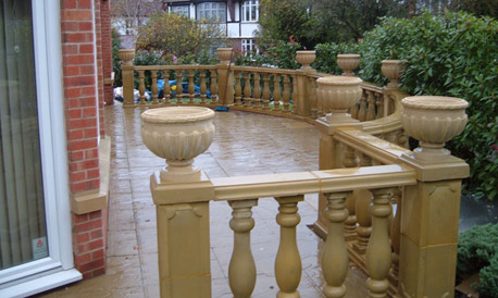 Large Size Balustrade