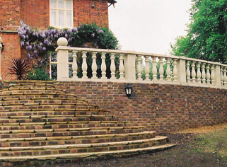 Buff Balustrade