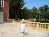 terrace balustrade